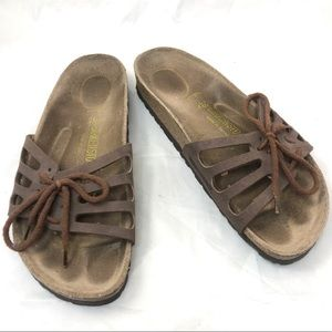Birkenstock Navato Sandals Brown 8